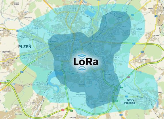 mapa lorawan plzen