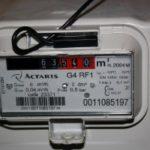 Gas-meter Itron